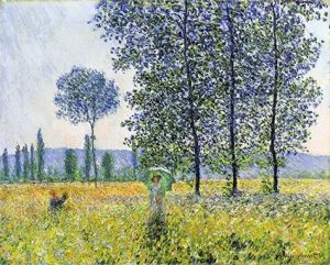 monet's fields in the spring