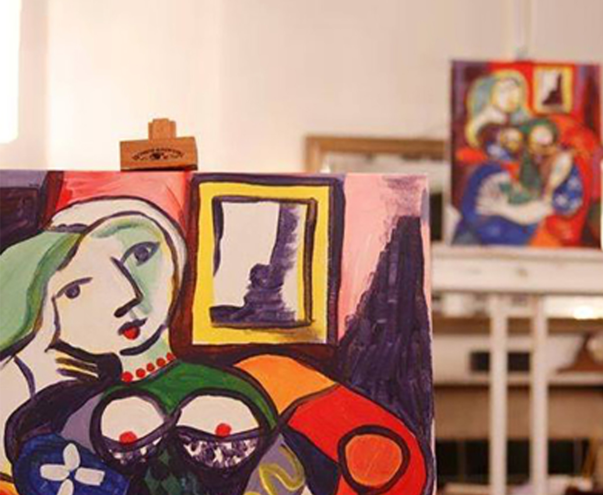 picasso home page image